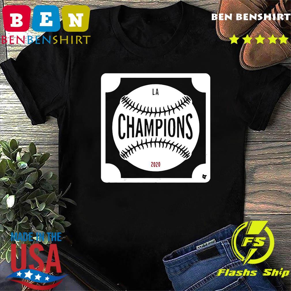 Los Angeles Dodgers Champions 2020 Shirt