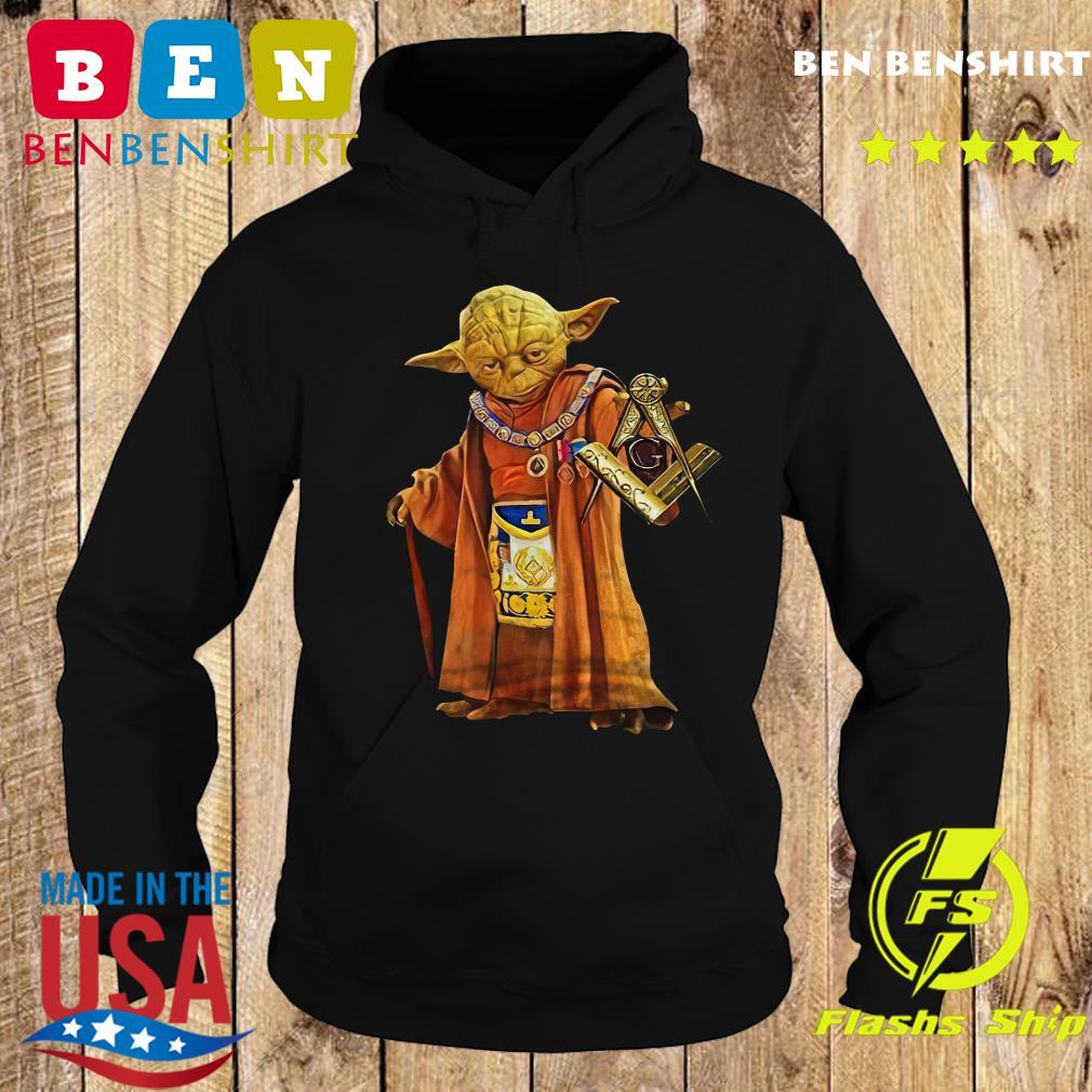 Master Yoda Freemason Brother T-Shirt Hoodie