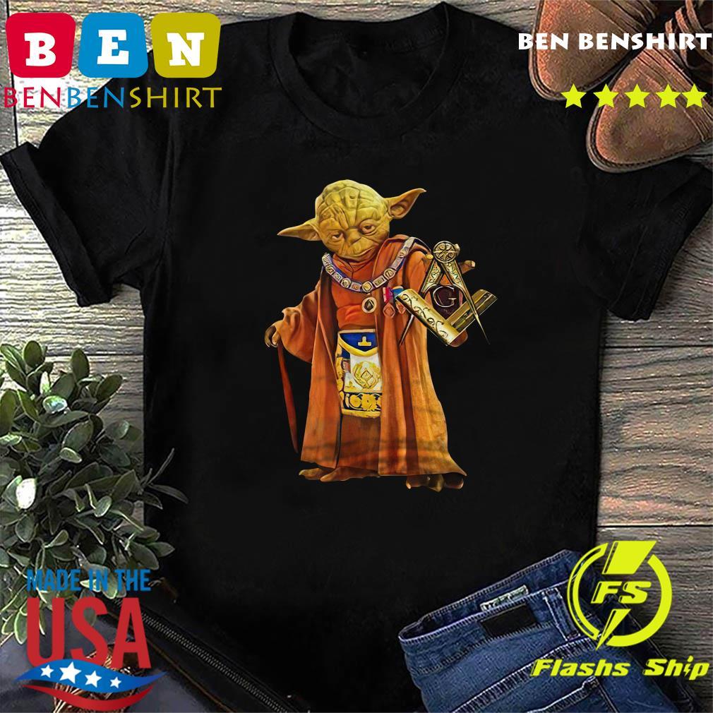 Master Yoda Freemason Brother T-Shirt