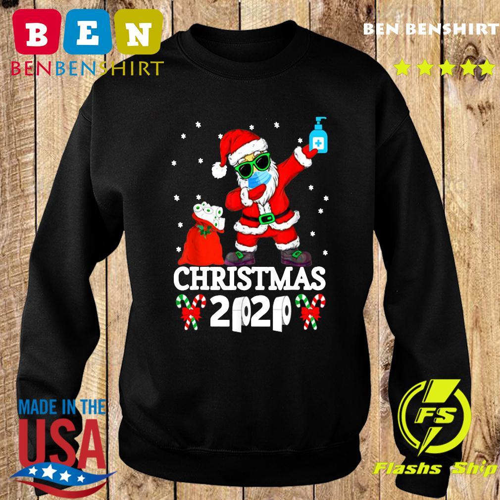 Merry Christmas Quarantine 2020 Pajamas Family Xmas Dabbing Sweatshirt