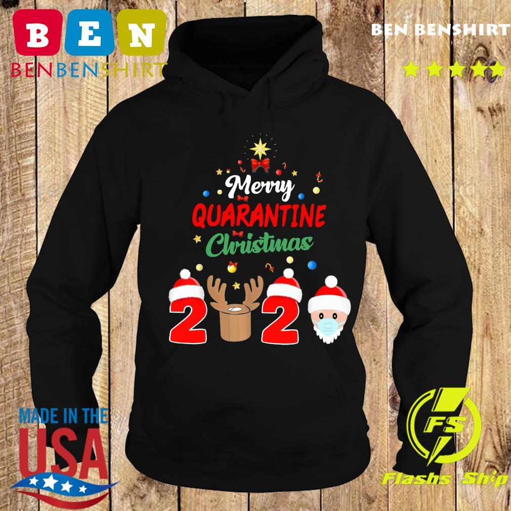 Merry Quarantine Christmas 2020 Xmas Pajamas Holidays Sweats Hoodie