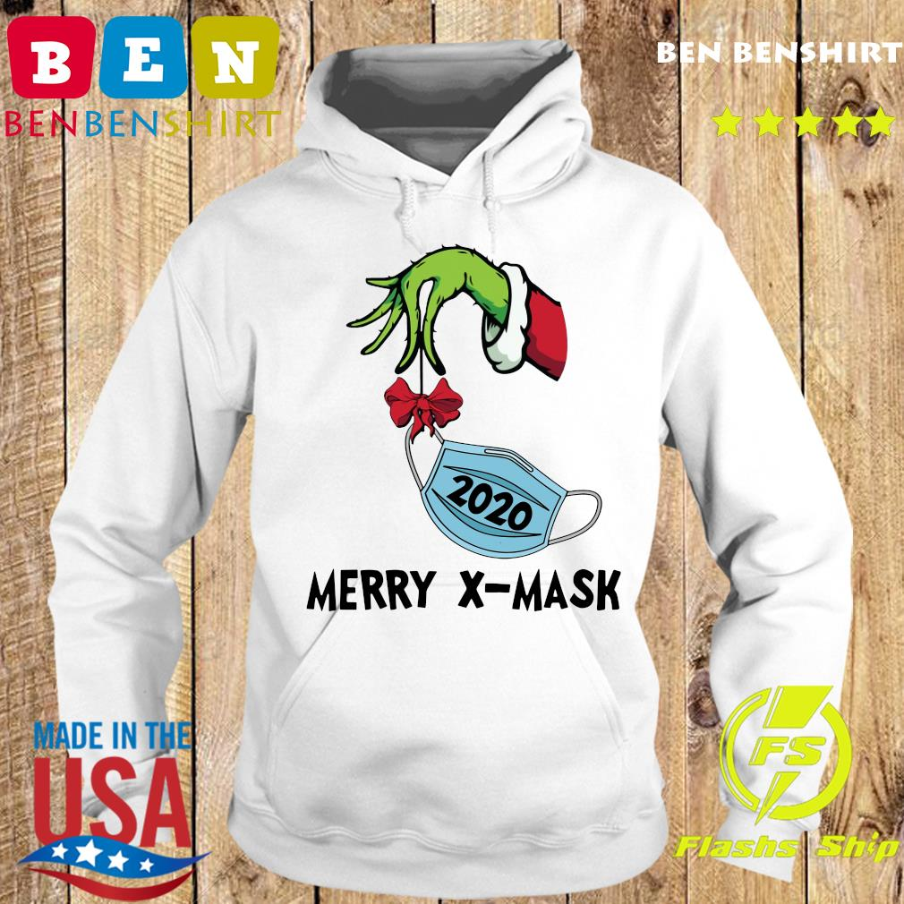 Merry X-Mask V-Neck Sweats Hoodie