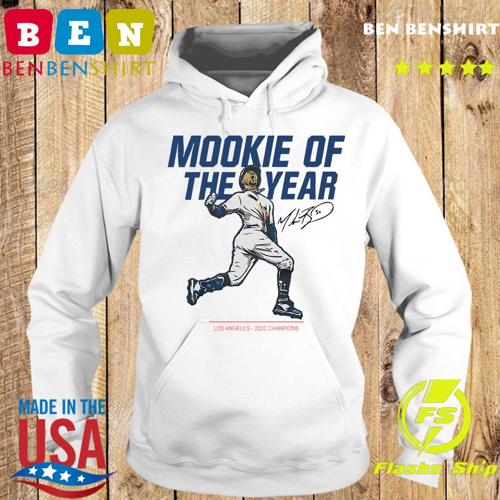 Mookie Of The Year Los Angeles Dodgers 2020 Champions Signature Shirt Hoodie