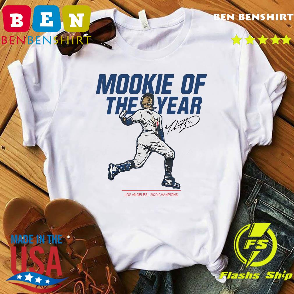 Mookie Of The Year Los Angeles Dodgers 2020 Champions Signature Shirt