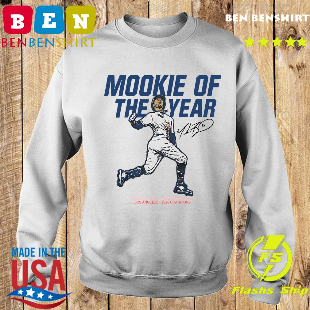 Mookie Of The Year Los Angeles Dodgers 2020 Champions Signature Shirt Sweater