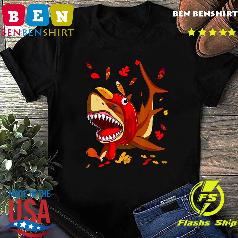 Nice Thanksgiving Shark Doo Doo Doo Turkey Costume shirt