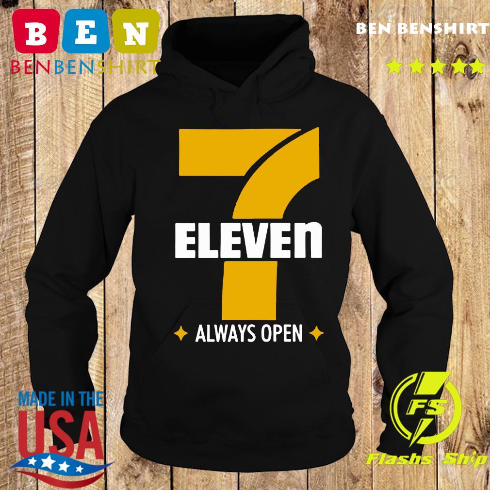 Official 7 Eleven Always Open Shirt Hoodie