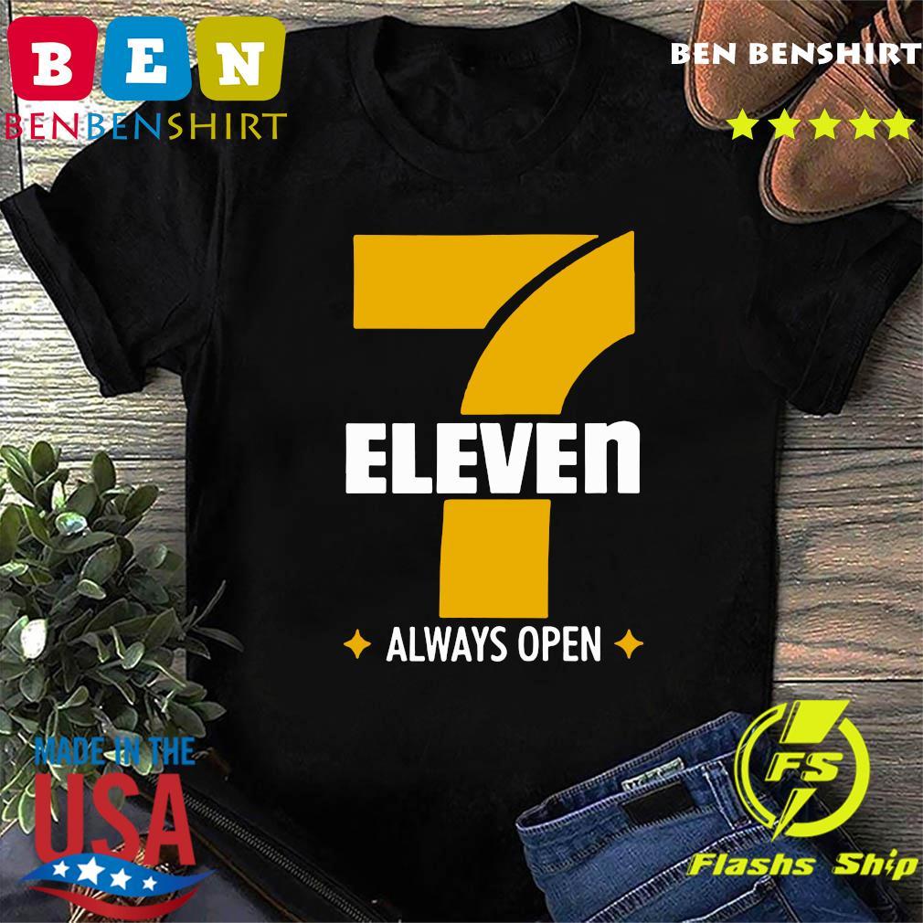 Official 7 Eleven Always Open Shirt