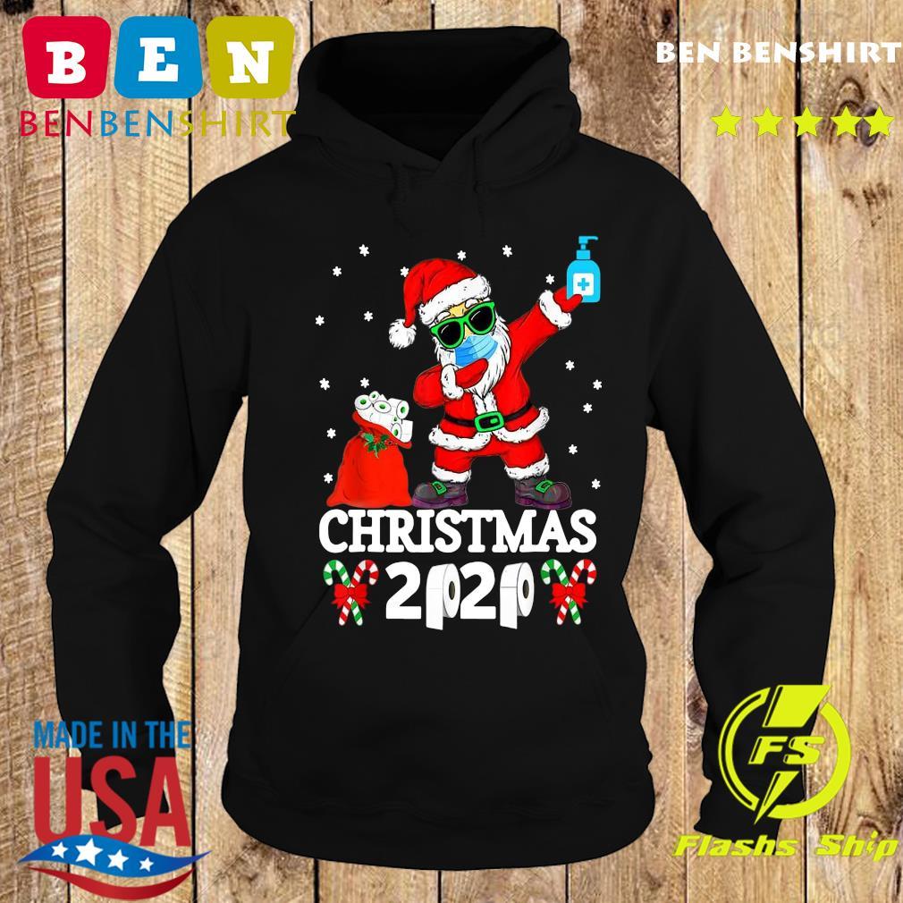 Official Satan Claus Dabbing Christmas 2020 Toilet Paper Sweats Hoodie