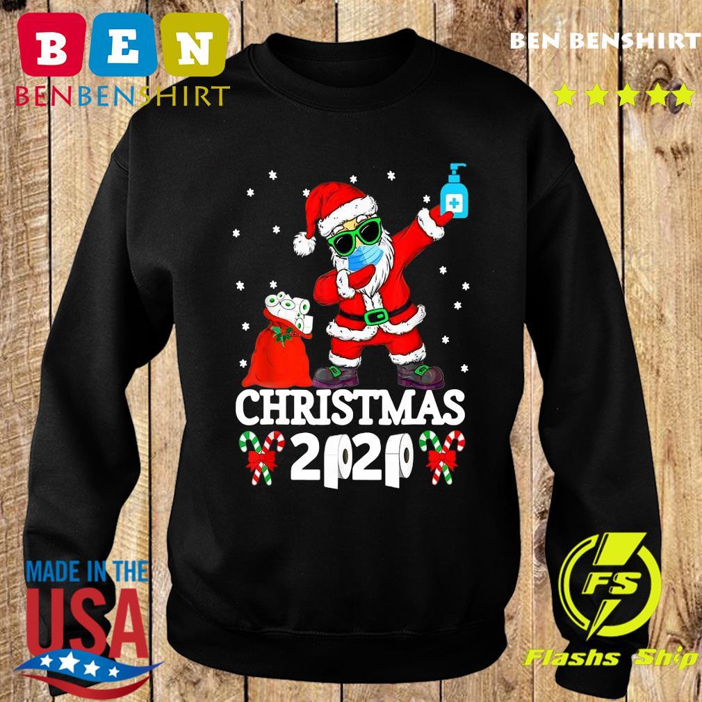 Official Satan Claus Dabbing Christmas 2020 Toilet Paper Sweatshirt