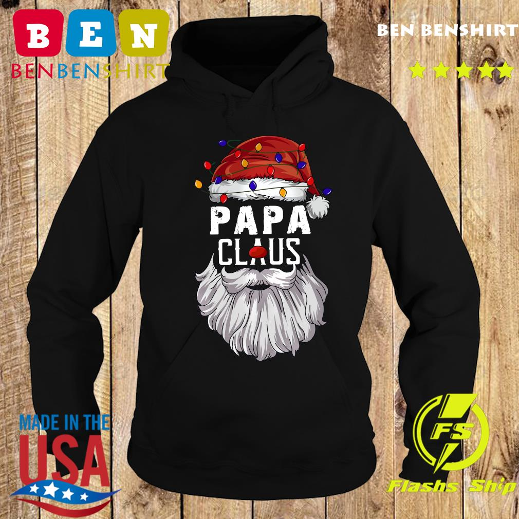 Papa Claus Merry Christmas Sweats Hoodie