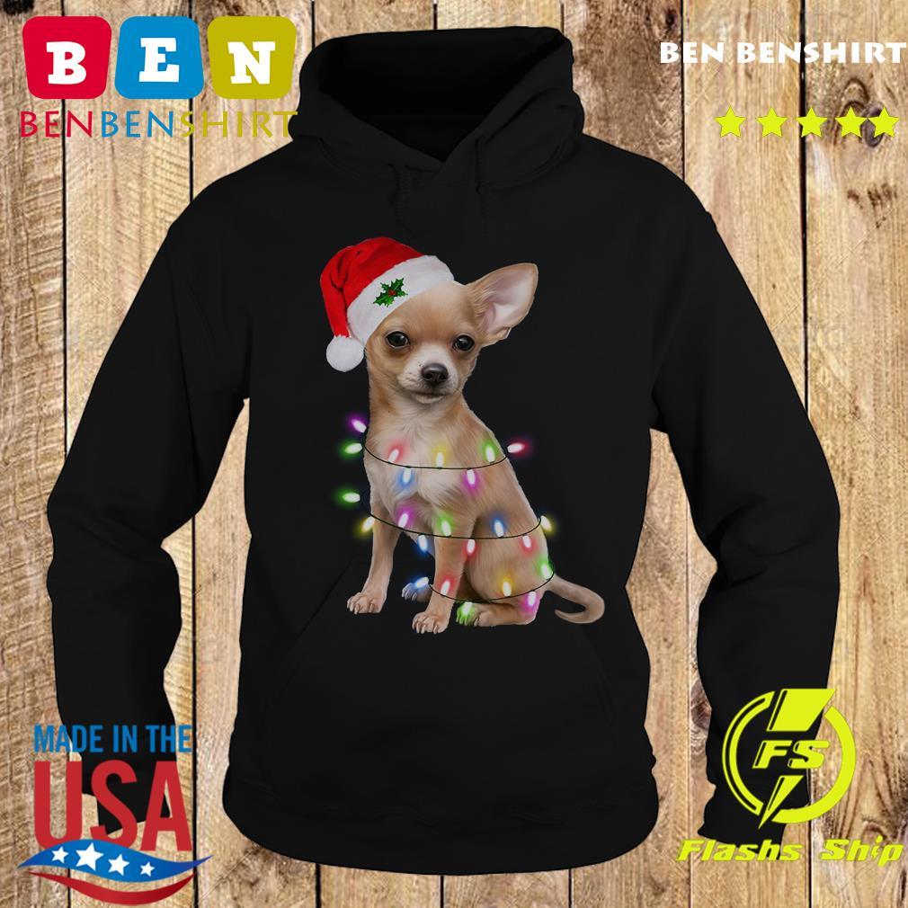 Santa Chihuahua Merry Christmas Sweats Hoodie