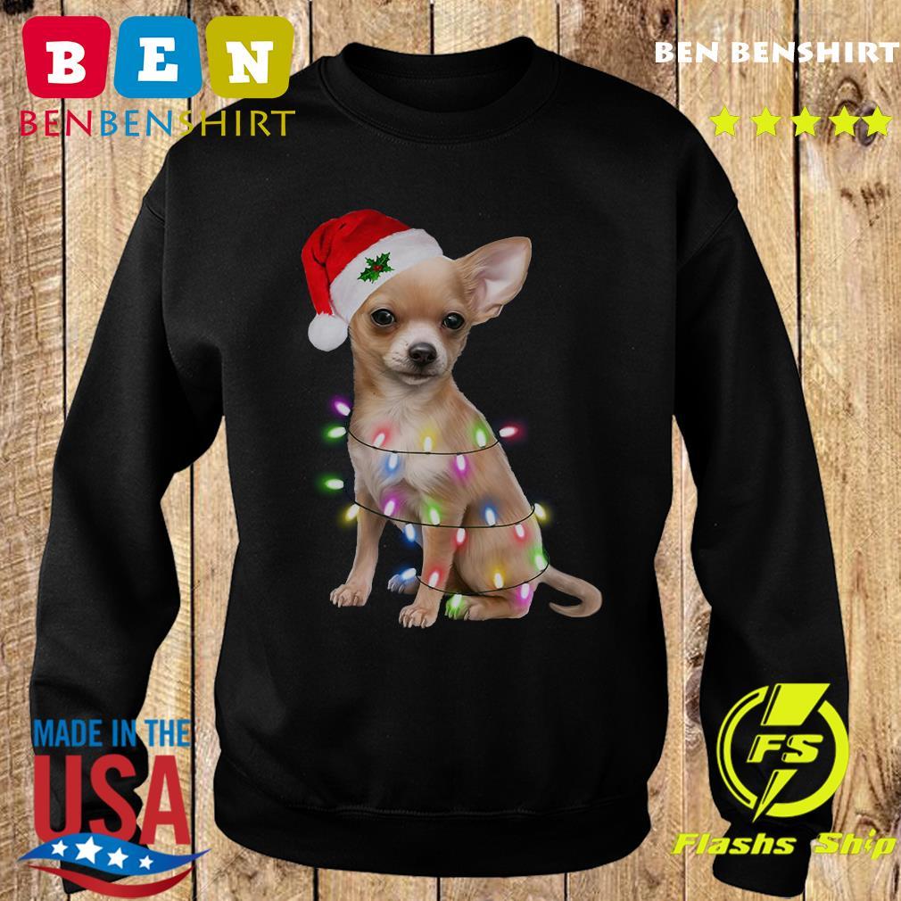 Santa Chihuahua Merry Christmas Sweatshirt