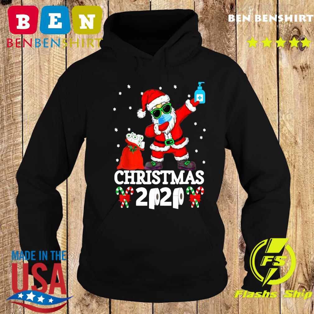 Santa Claus Dabbing Toilet Paper Christmas 2020 Sweats Hoodie