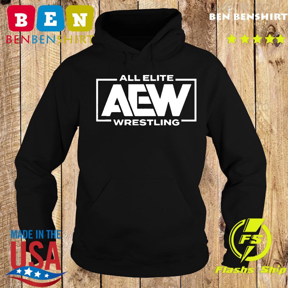 Shopaew All Elite Wrestling Aew Breast Cancer Awareness Shirt Hoodie