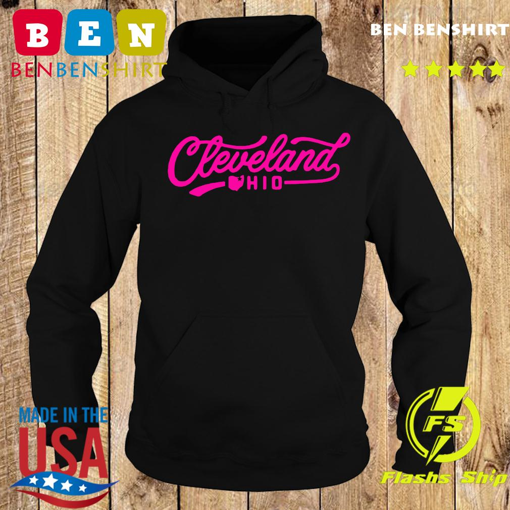 Special Edition Pink Cleveland Script Icons Shirt Hoodie