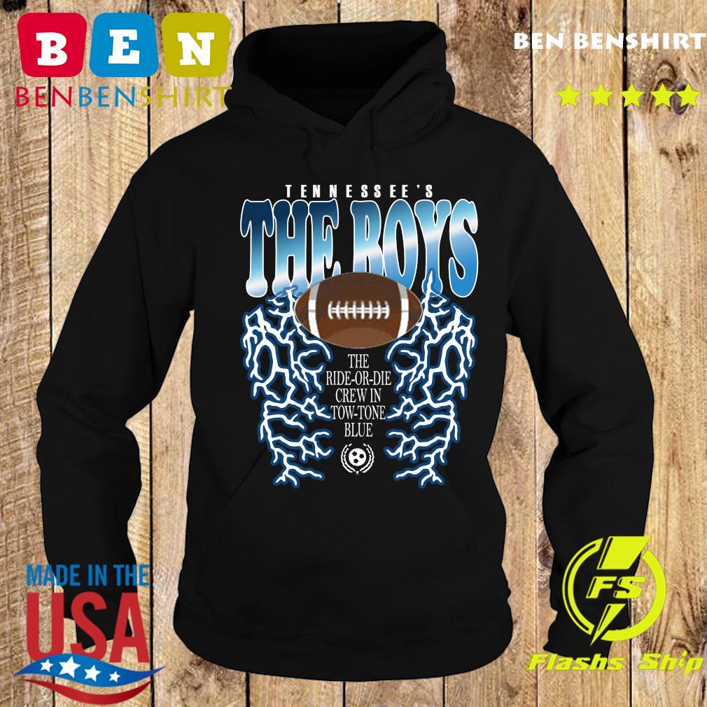 Tennessee's The Boys Lightning Shirt Hoodie