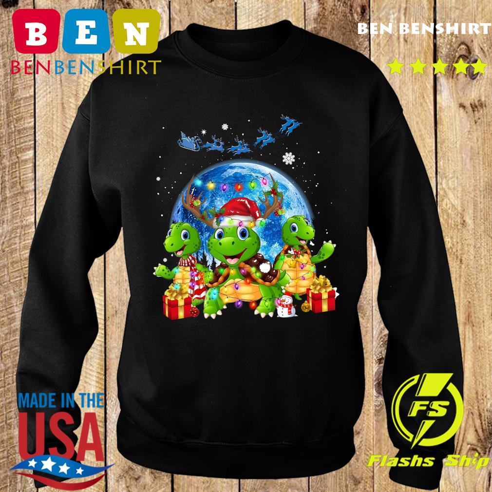 Three Turtle Merry Christmas Sweatshirt