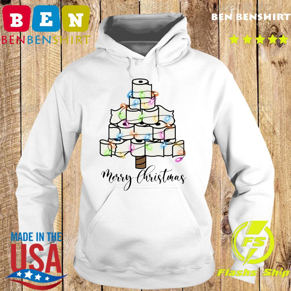 Toilet Paper Light Christmas Tree Merry Christmas Sweats Hoodie