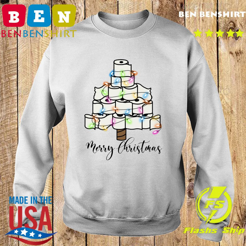 Toilet Paper Light Christmas Tree Merry Christmas Sweatshirt