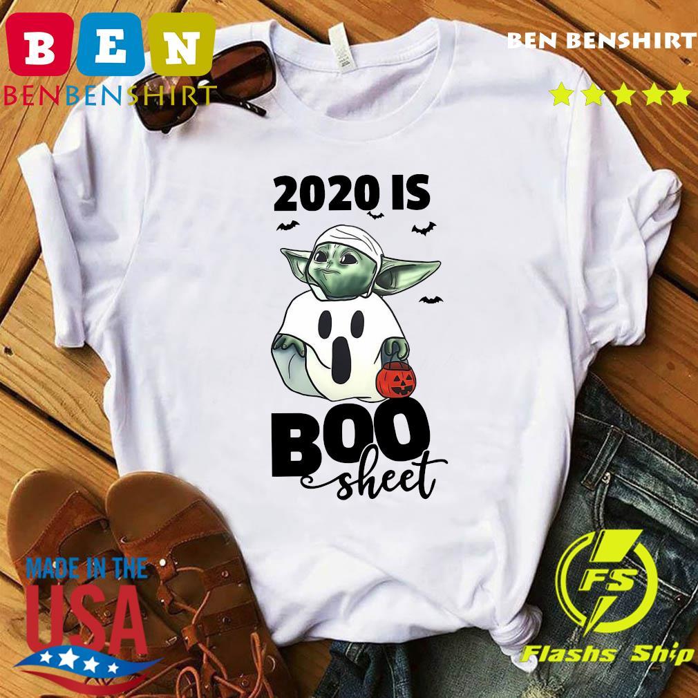 Baby Yoda Ghost 2020 Is Boo Sheet Shirt