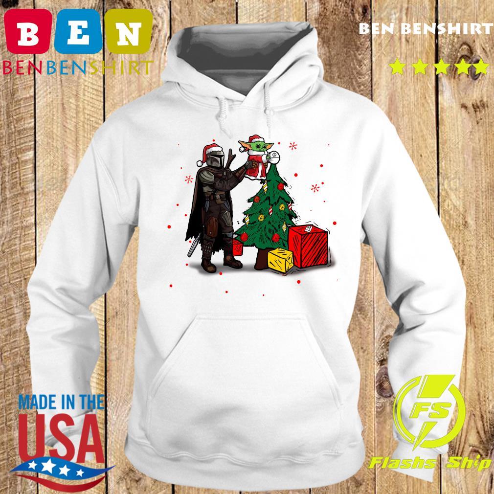 Baby Yoda The Mandalorian Star Wars Christmas 2020 Christmas Sweats Hoodie