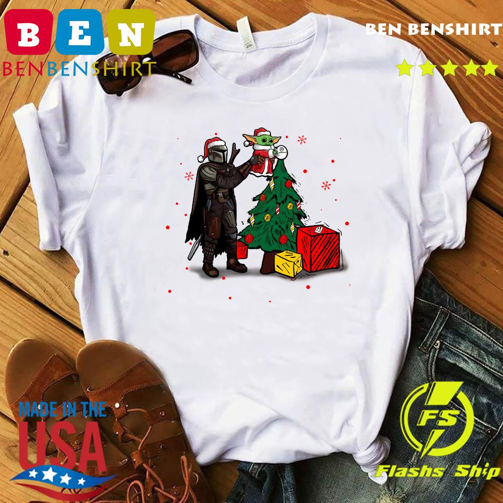 Baby Yoda The Mandalorian Star Wars Christmas 2020 Christmas Sweats Shirt