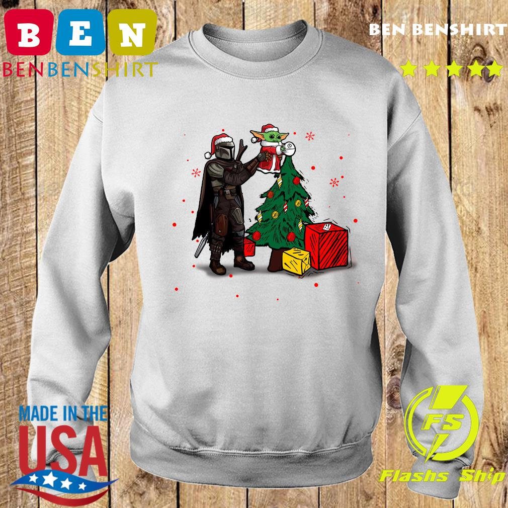 Baby Yoda The Mandalorian Star Wars Christmas 2020 Christmas Sweatshirt