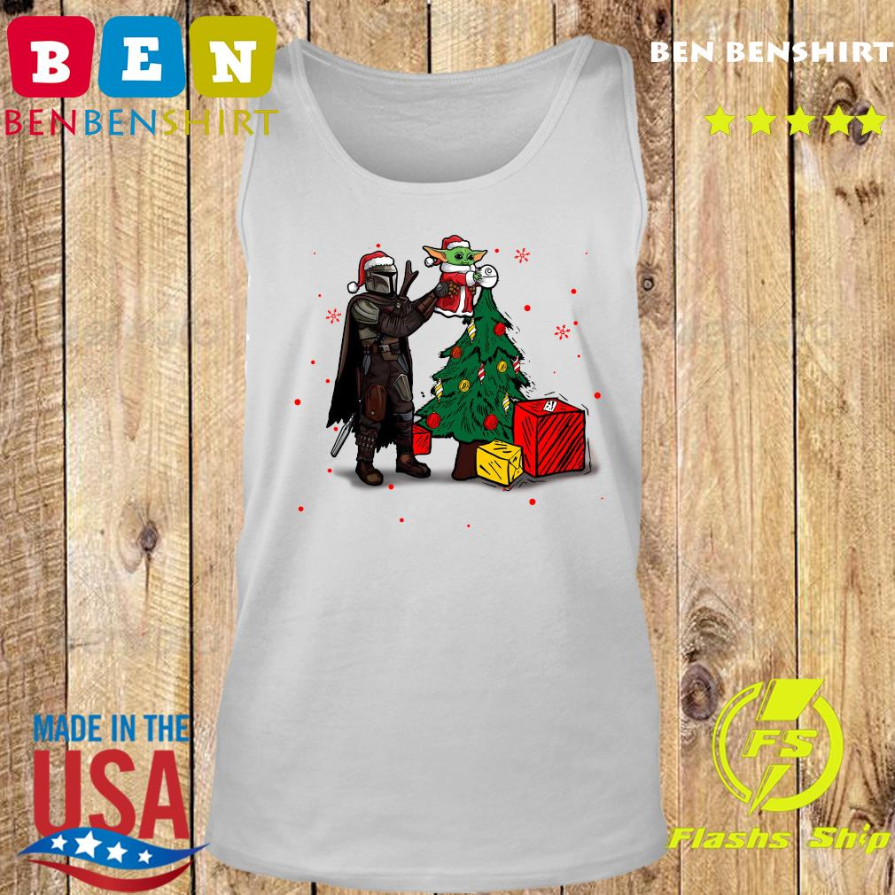 Baby Yoda The Mandalorian Star Wars Christmas 2020 Christmas Sweats Tank top