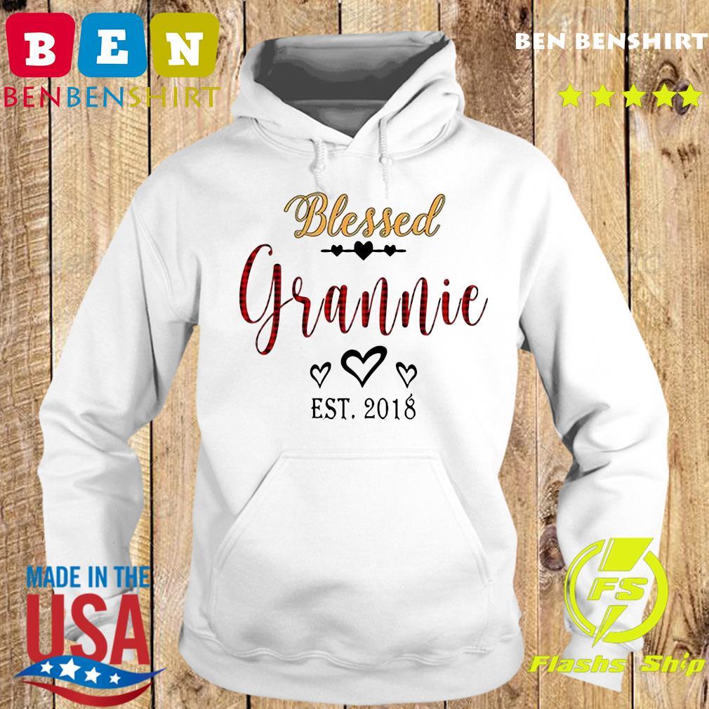 Blessed Grannie Est 2018 Shirt Hoodie
