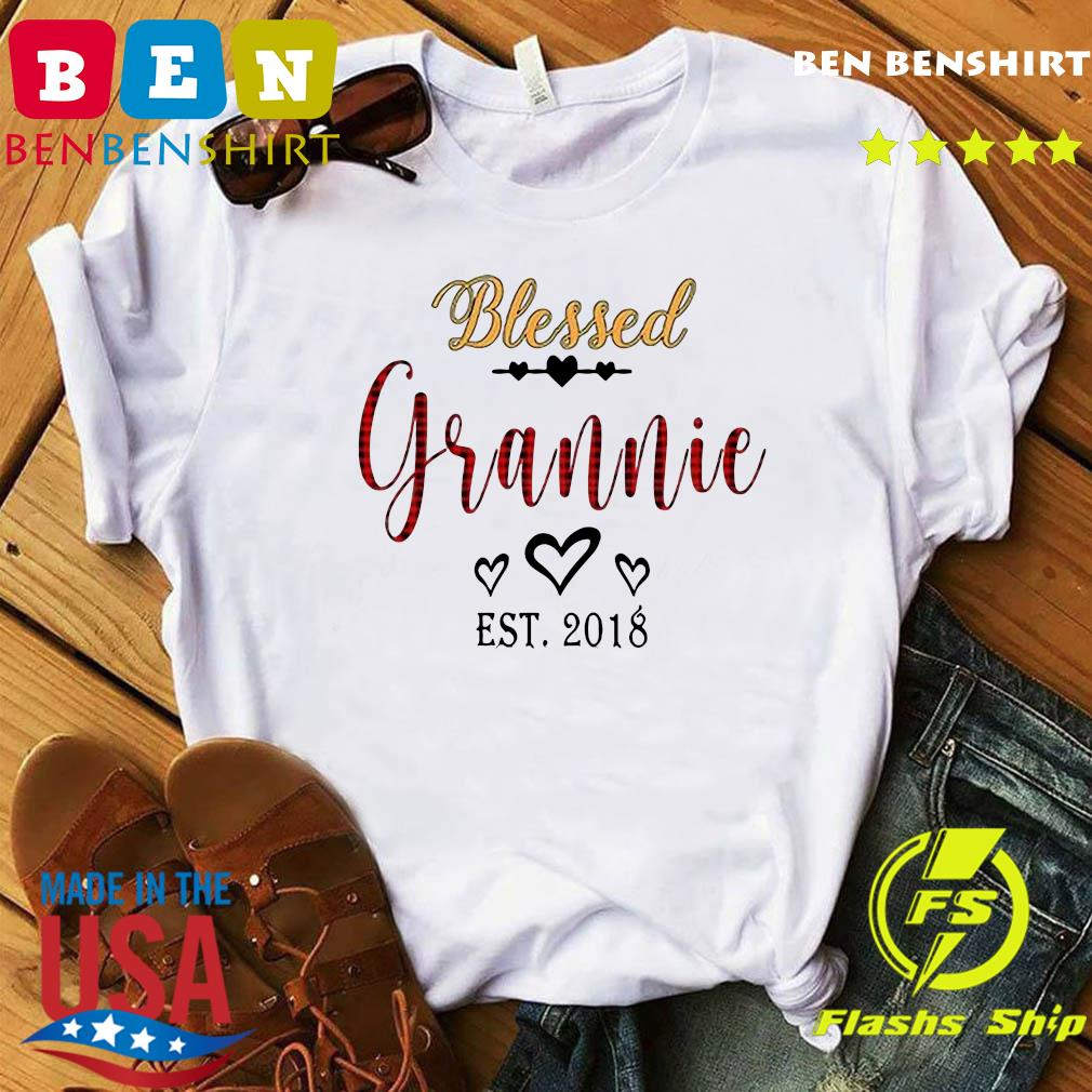 Blessed Grannie Est 2018 Shirt