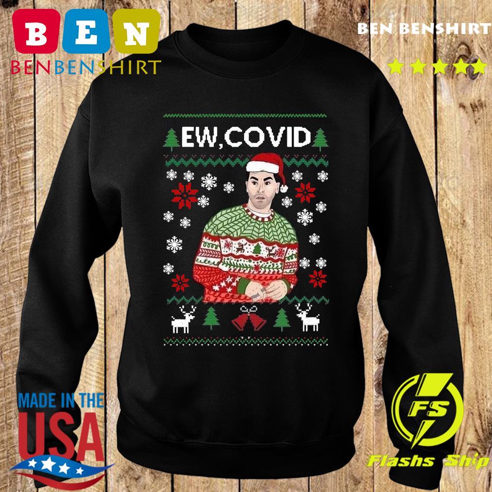 David Rose Ew Covid Ugly Christmas Sweatshirt