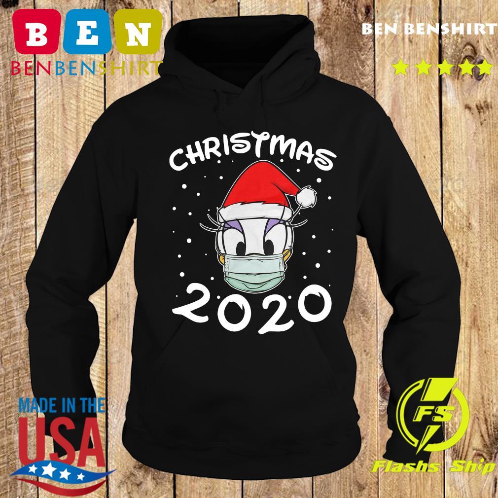 Face Daisy Santa Wear Mask Merry Christmas 2020 Christmas Sweats Hoodie