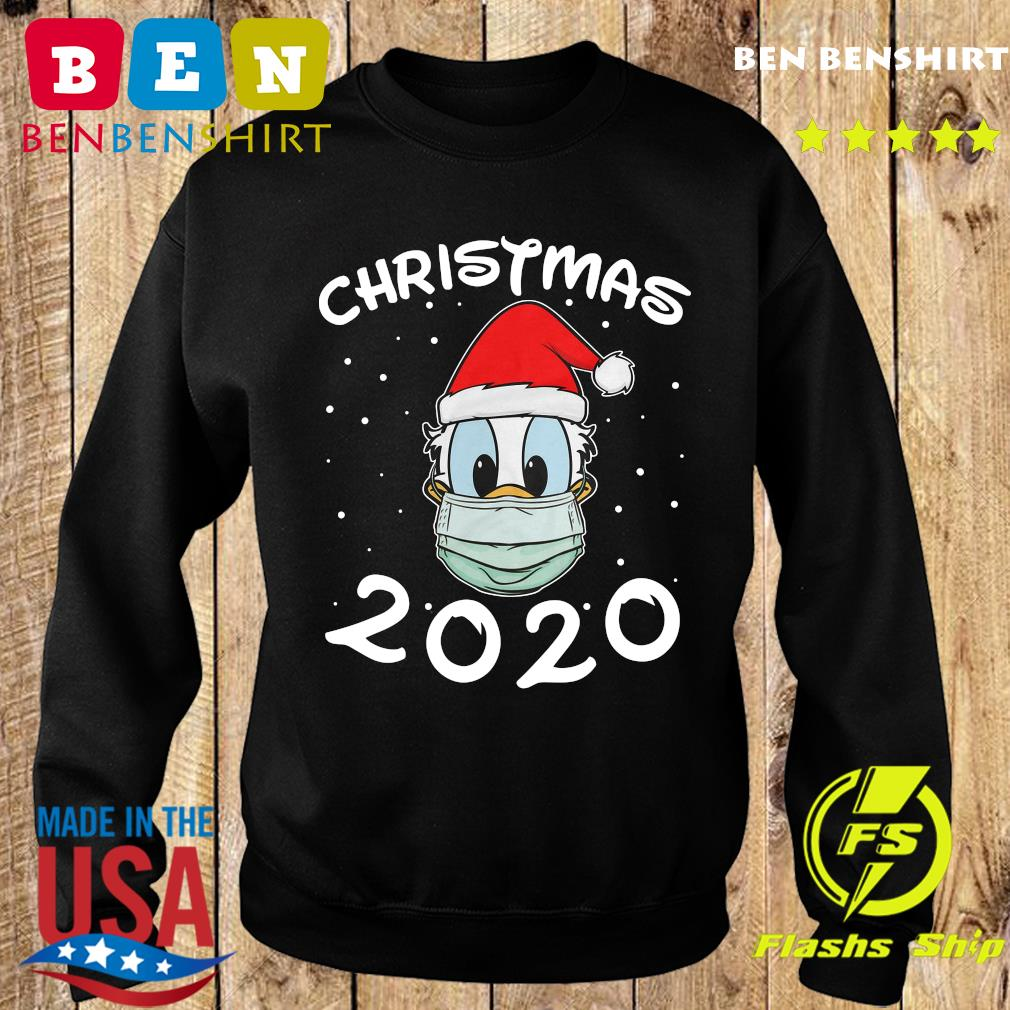 Face Donald Santa Wear Mask Merry Christmas 2020 Christmas Sweatshirt