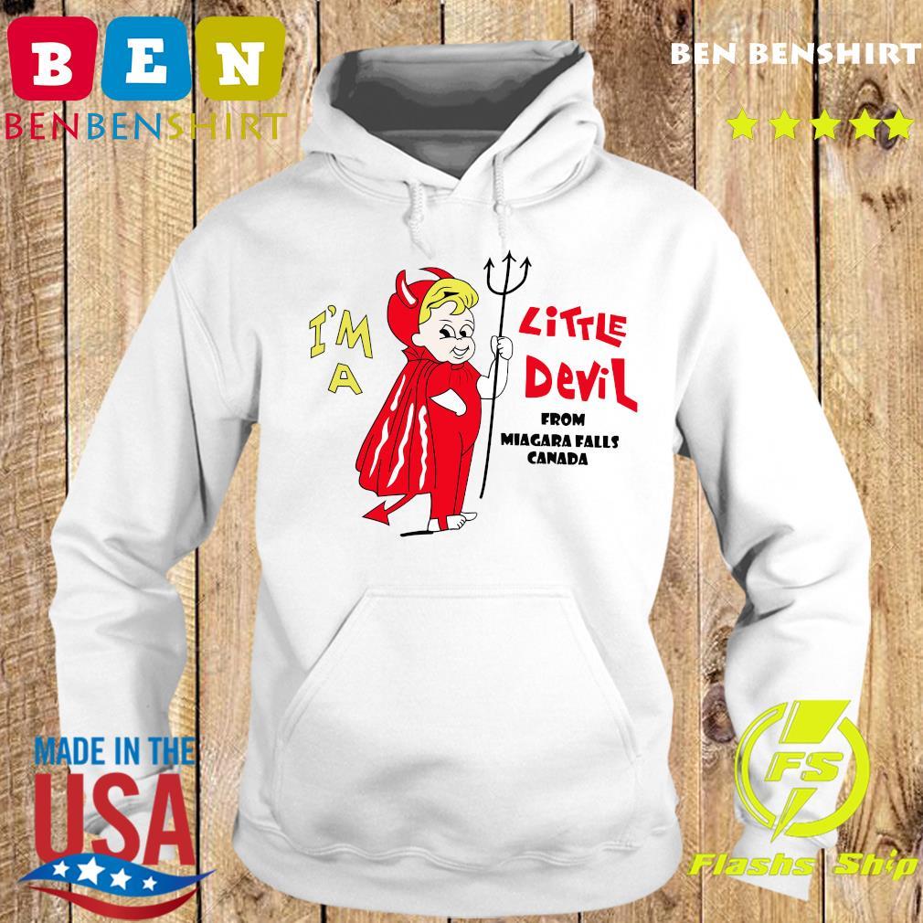 I_m A Little Devil From Niagara Falls Canada Shirt Hoodie