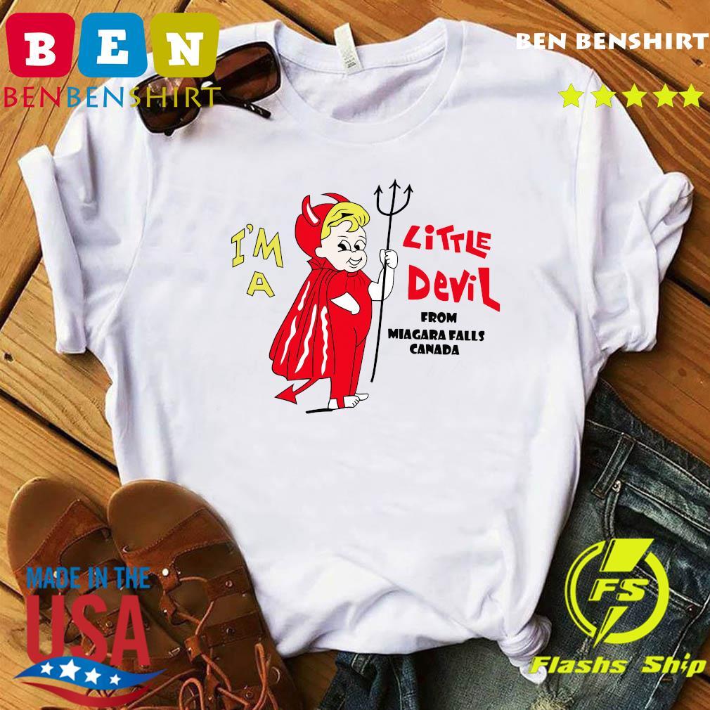 I_m A Little Devil From Niagara Falls Canada Shirt