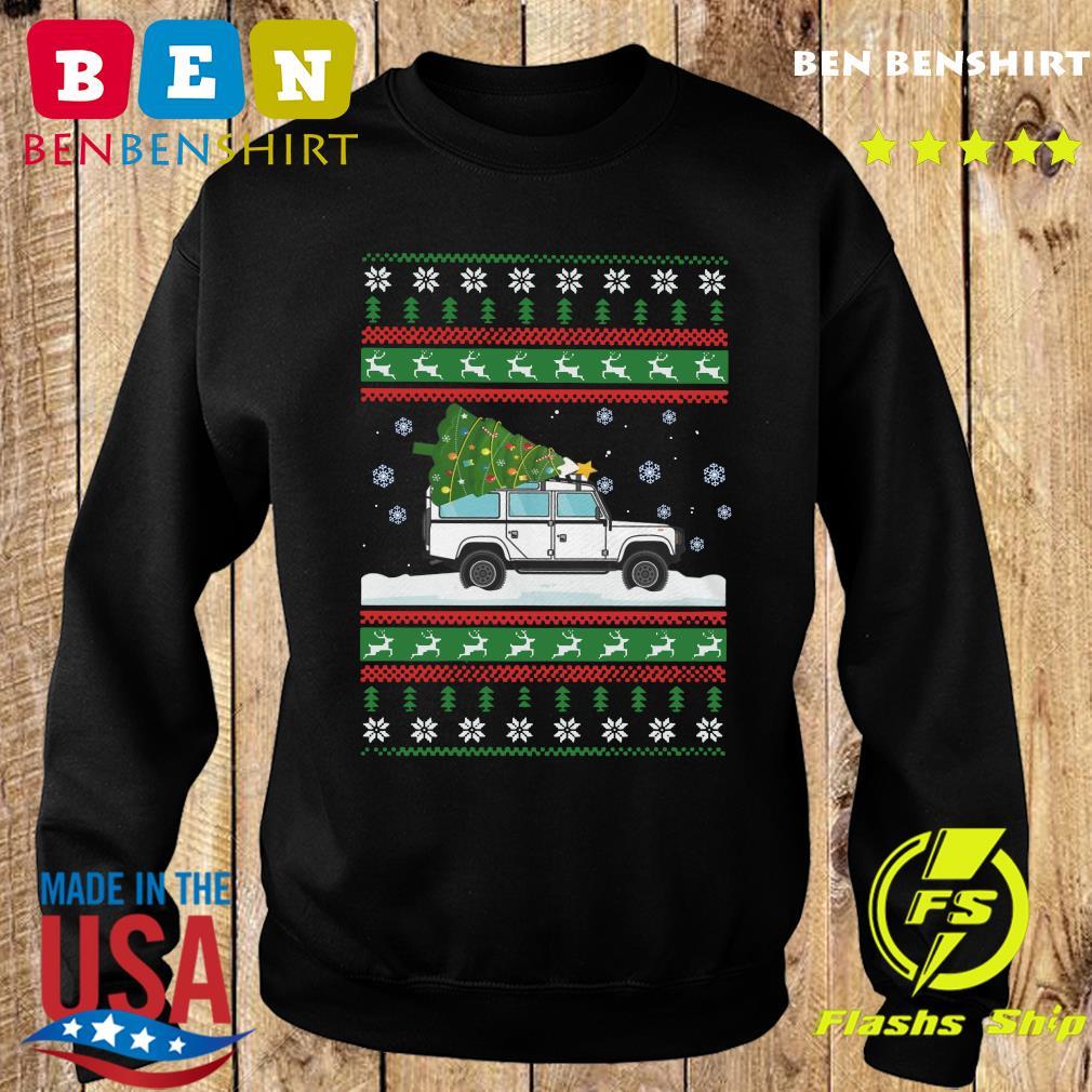 Land Rover Defender 90 Ugly Christmas Sweatshirt