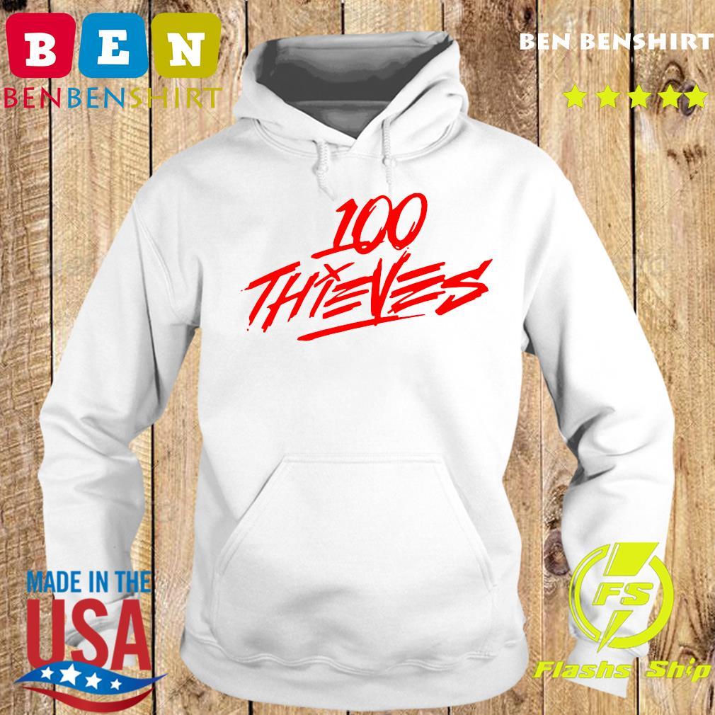 Los Angeles 100 Thieves Shirt Hoodie