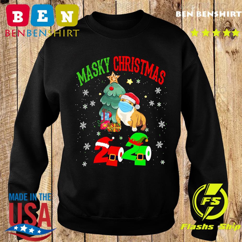 Masky Christmas Pug Santa Face Mask 2020 Elf Toilet Paper Merry Christmas Sweatshirt