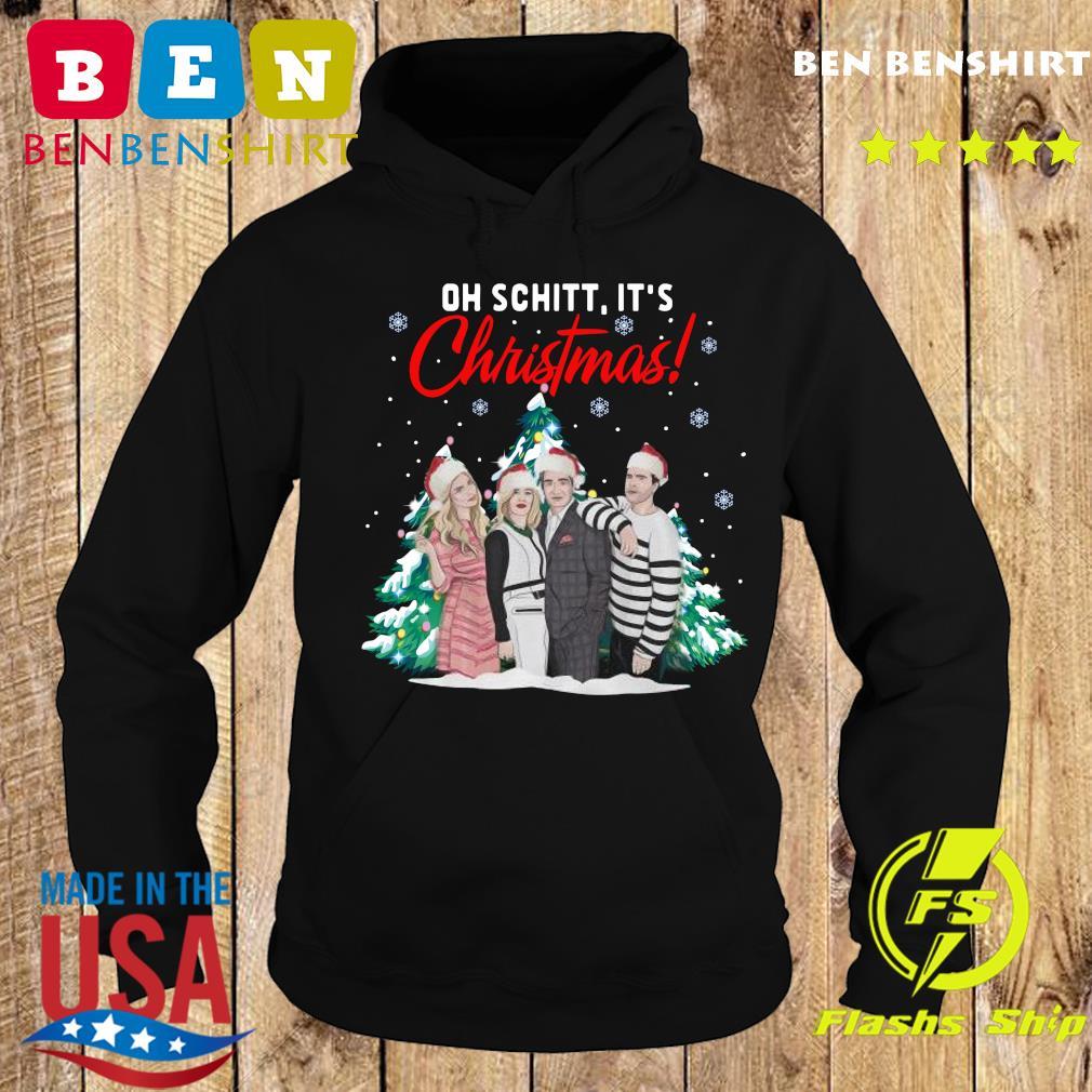 Oh Schitt It's Christmas Creek Tree Sweats Hoodie