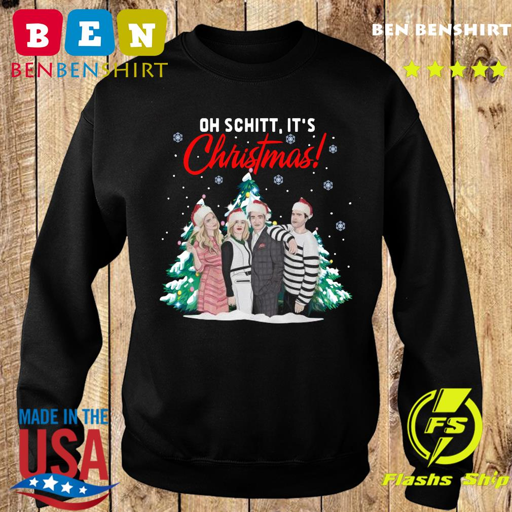 Oh Schitt It's Christmas Creek Tree Sweatshirt