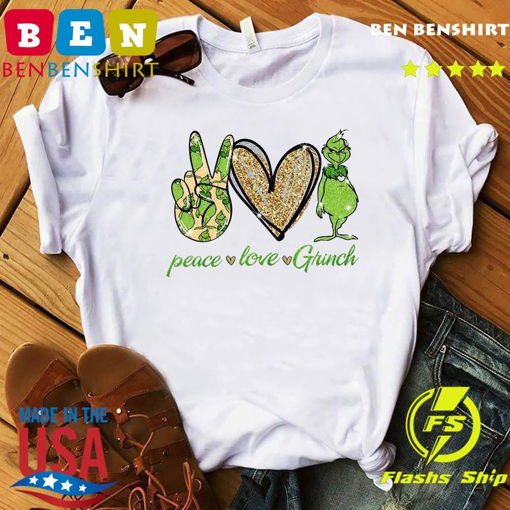 Peace Love Grinch Shirt