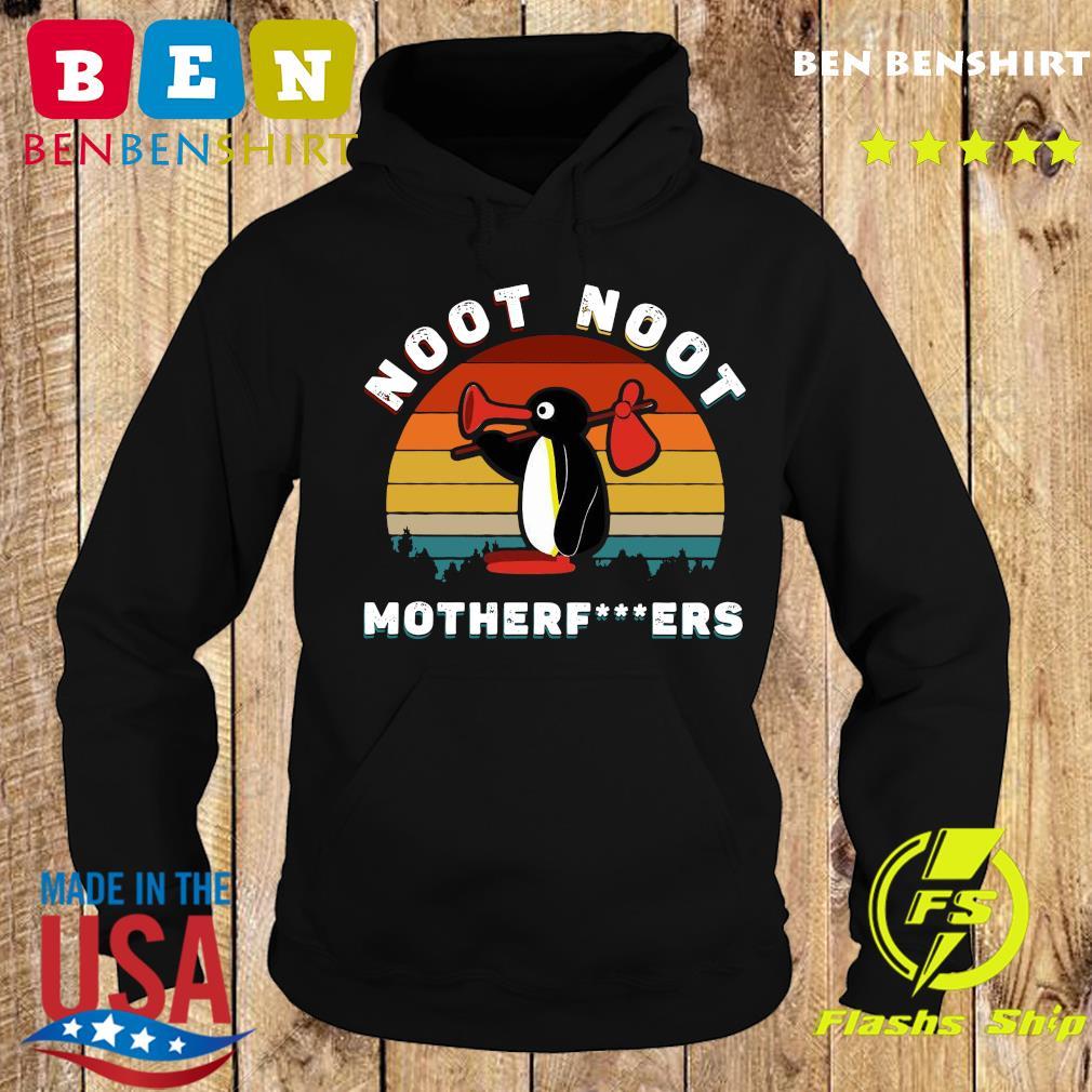 Penguin Noot Noot Motherfuckers Vintage Retro Shirt Hoodie