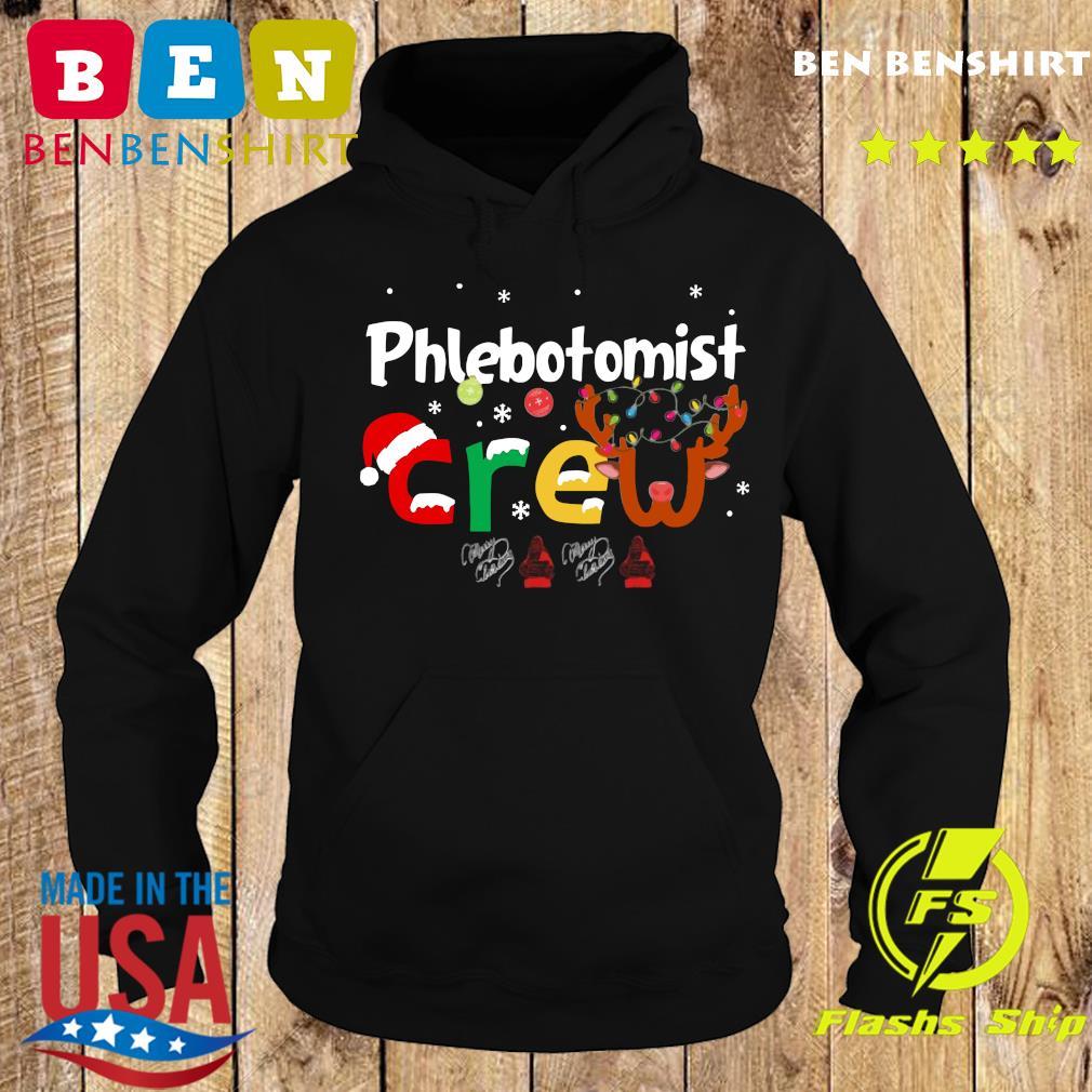 Phlebotomist Crew Merry Christmas Sweats Hoodie