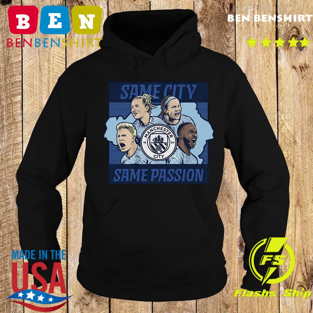 Same City Same Passion 2020 Shirt – Licensed by Manchester City Hoodie