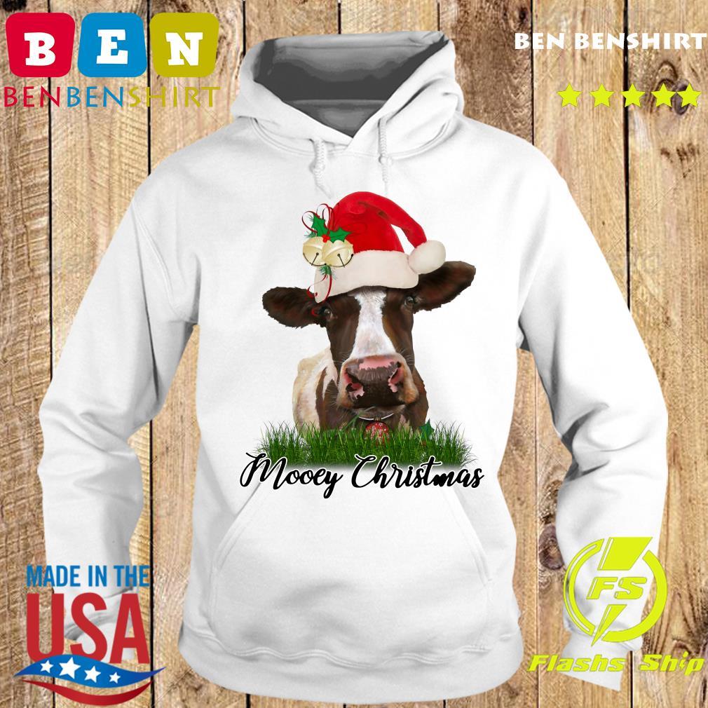 Santa Cow Mooey Christmas Sweats Hoodie