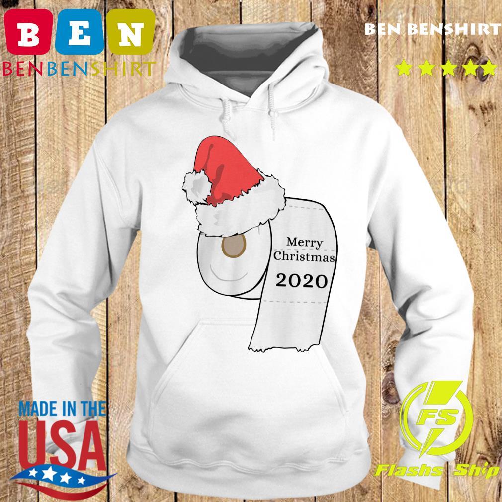 Santa Hat Toilet Paper Merry Christmas 2020 Sweats Hoodie
