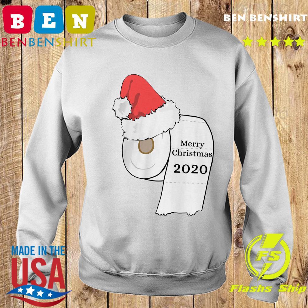 Santa Hat Toilet Paper Merry Christmas 2020 Sweatshirt