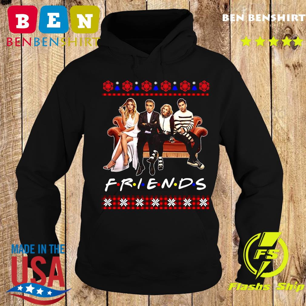 Schitt's Creek And Friends Merry Christmas Ugly Sweats Hoodie