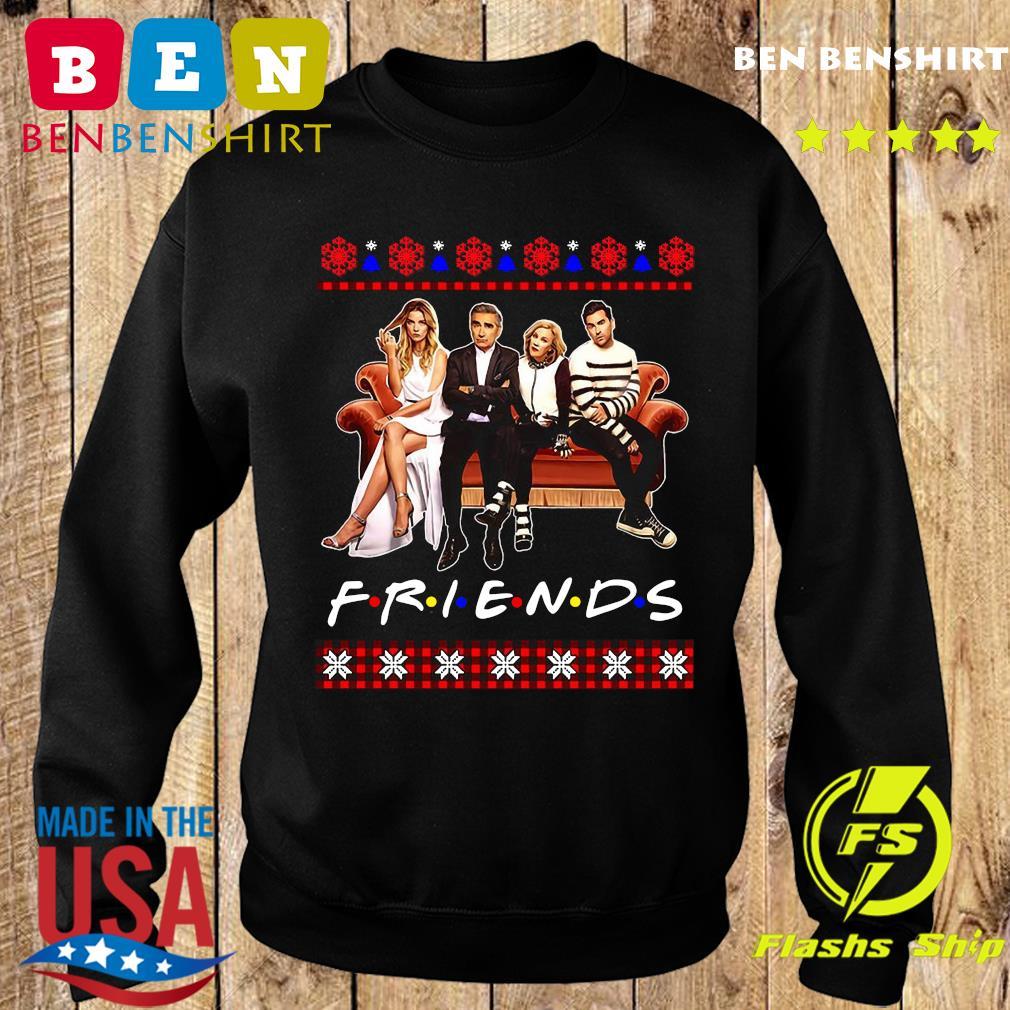 Schitt's Creek And Friends Merry Christmas Ugly Sweatshirt